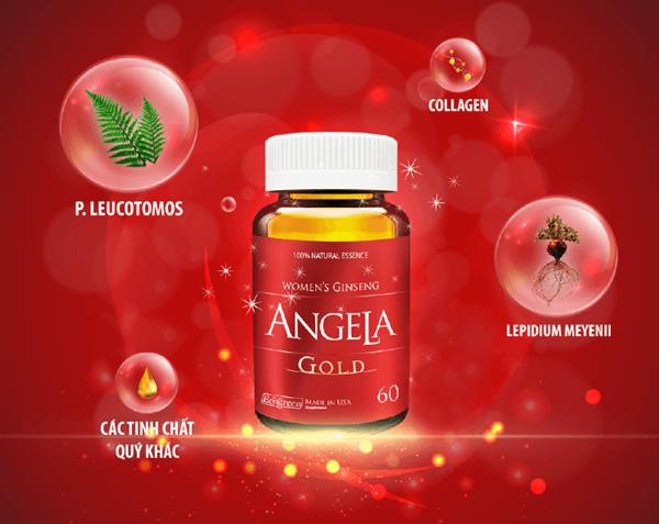 Angela Gold giúp phái đẹp tỏa sáng với làn da rạng rỡ