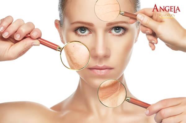 hormone nữ suy giảm gây ra các vấn đề về da