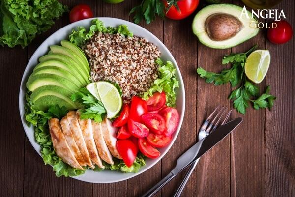 cách trị da khô thông qua chế độ ăn uống