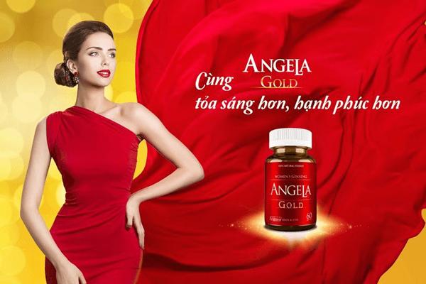 angela gold điều hòa nội tiết tố nữ