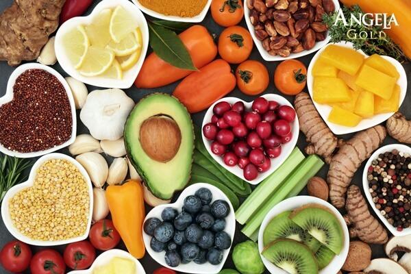 thực phẩm ngăn ngừa tổn thương do ánh nắng mặt trời