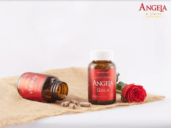 Angela Gold cải thiện dấu hiệu của tiền mãn kinh