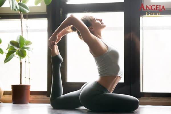 bài tập yoga trị nám