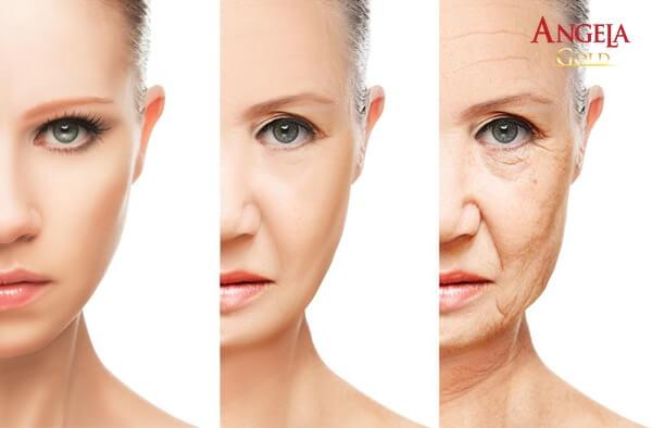 lão hóa da sớm khiến phụ nữ kém sắc