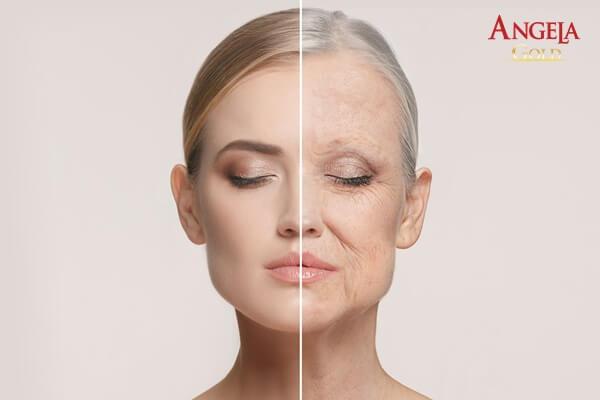 da bị lão hóa ảnh hưởng đến vẻ ngoài