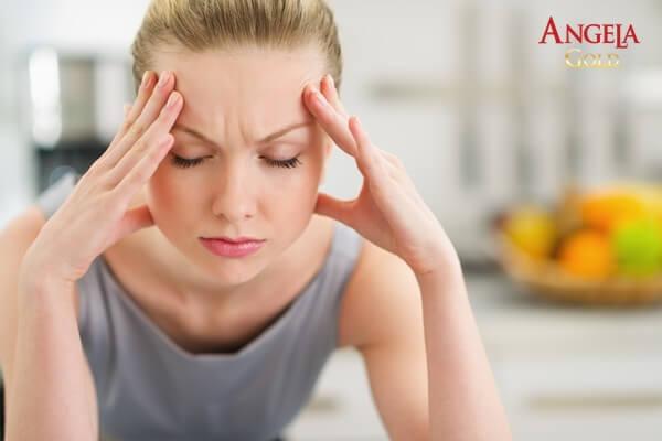 căng thẳng tăng sản sinh sạm nám