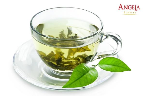 trà xanh giúp làm đẹp da