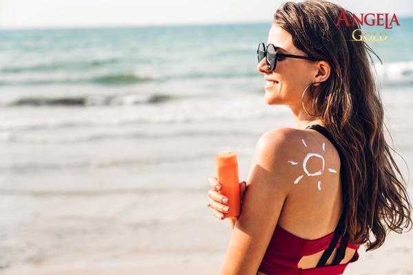 kem chống nắng là bước dưỡng da buổi sáng