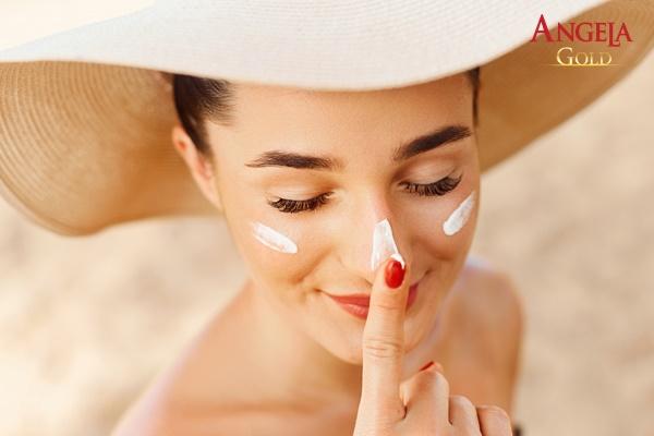 chống nắng cho da để tránh lão hoá sạm đen