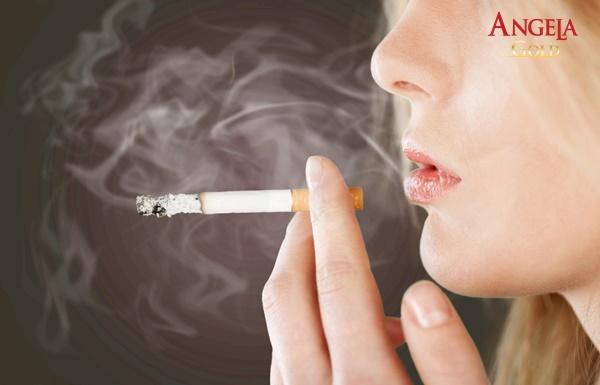 nguyên nhân không có kinh nguyệt là hút thuốc