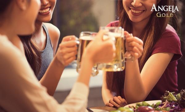 lạm dụng rượu bia gây trễ kinh