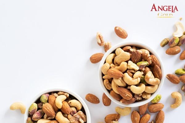 ăn các loại hạt tăng độ ẩm cho da