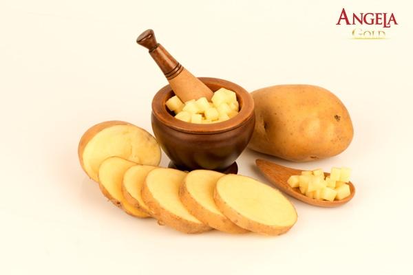 làm sáng da tại nhà từ hỗn hợp khoai tây