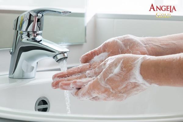 quy trình rửa mặt đúng cách