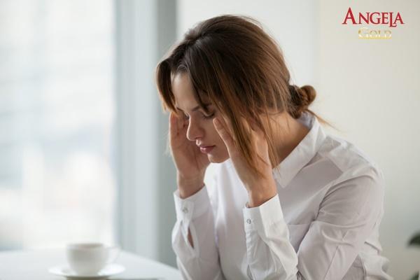 tinh thần căng thẳng khiến kinh nguyệt không đều